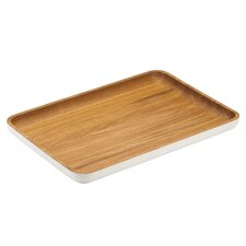 The Burbs Wood Rectangular Tray