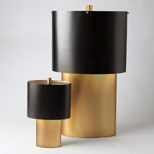 """Nordic 17"""" H Table Lamp with Drum Shade"""