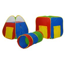 Multiplex 24 Balls with 3 Piece Tunnel Set