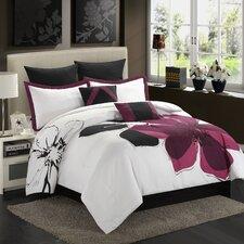 Floral 8 Piece Comforter Set