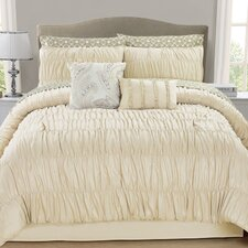 Greyson 10 Piece Ruched Comforter Set