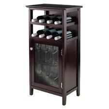 Alta 8 Bottle Floor Wine Cabinet