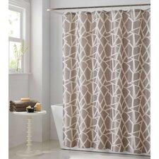 Woven Glass 13 Piece Jacquard Shower Curtain Set