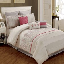 Paisley 8 Piece Comforter Set