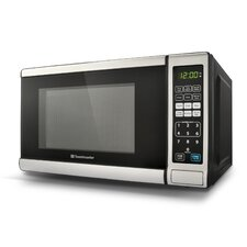 0.7 Cu. Ft. 700W Countertop Microwave in Silver