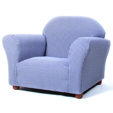 Roundy Ghingham Kids Club Chair