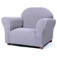 Roundy Ghingham Kids Club Chair