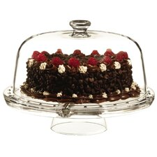 Gallerie Convertible Covered Cake Stand