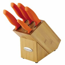 6 Piece Knife Block Set
