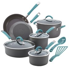 Cucina Hard Anodized Nonstick 12 Piece Cookware Set