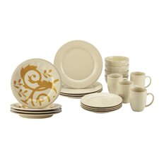Holiday 20 Piece Dinnerware Set