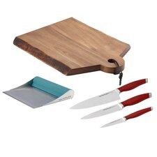 Cutlery and Cutting Board Set