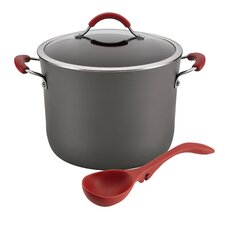 Cucina Hard-Anodized 10-qt. Stock Pot with Lid