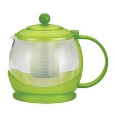 BonJour Teapots Prosperity 42-Ounce Glass Teapot,