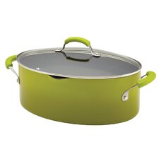 Porcelain Nonstick 8 Qt. Stock Pot with Lid