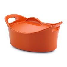 Bubble and Brown 4.25 Qt. Oval Casserole