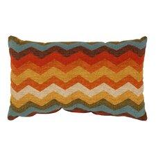 Panama Wave Cotton Lumbar Pillow