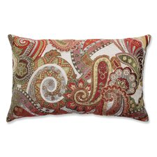 Crazy Rosewood Lumbar Pillow