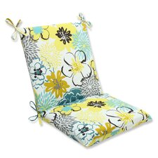 Floral Fantasy Outdoor Lounge Chair Cushion