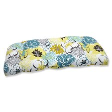 Floral Fantasy Outdoor Loveseat Cushion