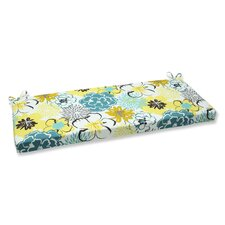 Floral Fantasy Outdoor Bench Cushion