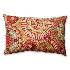 Indira Cardinal Cotton Lumbar Pillow