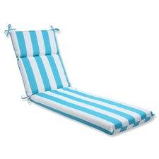 Cabana Stripe Outdoor Chaise Lounge Cushion