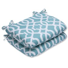 New Geo Outdoor Dining Chair Cushion (Set of 2)