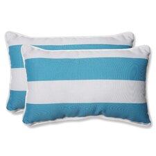 Cabana Stripe Indoor/Outdoor Throw Pillow (Set of 2)