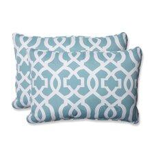 New Geo Indoor/Outdoor Lumbar Pillow (Set of 2)