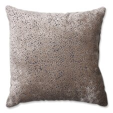 Tuscany Dots Flax Cut Throw Pillow