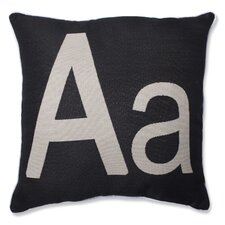 Initial Throw Pillow