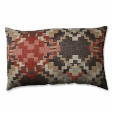 Cabin Fever Heather Cotton Lumbar Pillow