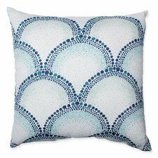 Shelamar Teal Cotton Throw Pillow
