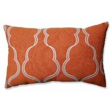 Cassie Tangerine Lumbar Pillow