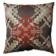 Cabin Fever Heather Cotton Throw Pillow