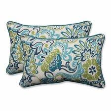 Zoe Mallard Outdoor/Indoor Throw Pillow (Set of 2)