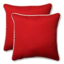 Outdoor/Indoor Throw Pillow (Set of 2)