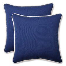 Outdoor/Indoor Throw Pillow (Set of 2)