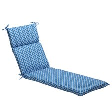 Geometric Outdoor Chaise Lounge Cushion
