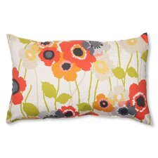 Pic-A-Poppy Cotton Lumbar  Pillow