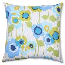 Pic-A-Poppy Cotton Throw Pillow