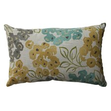 Luxury Floral Cotton Lumbar Pillow