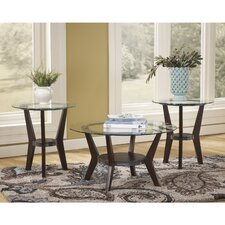 Fantell 3 Piece Coffee Table Set
