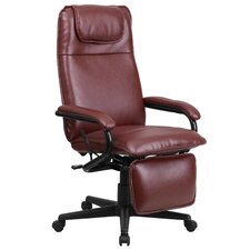 High-Back Leather Executive Reclining Executive Chair