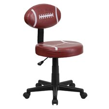 Football Mid-Back Kids Desk Chair