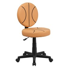 Basketball Mid-Back Kids Desk Chair