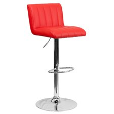 Contemporary Adjustable Height Swivel Bar Stool