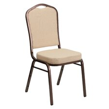 Hercules Series Crown Back Banquet Chair with Cushion