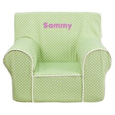 Personalized Kids Cotton Foam Chair
